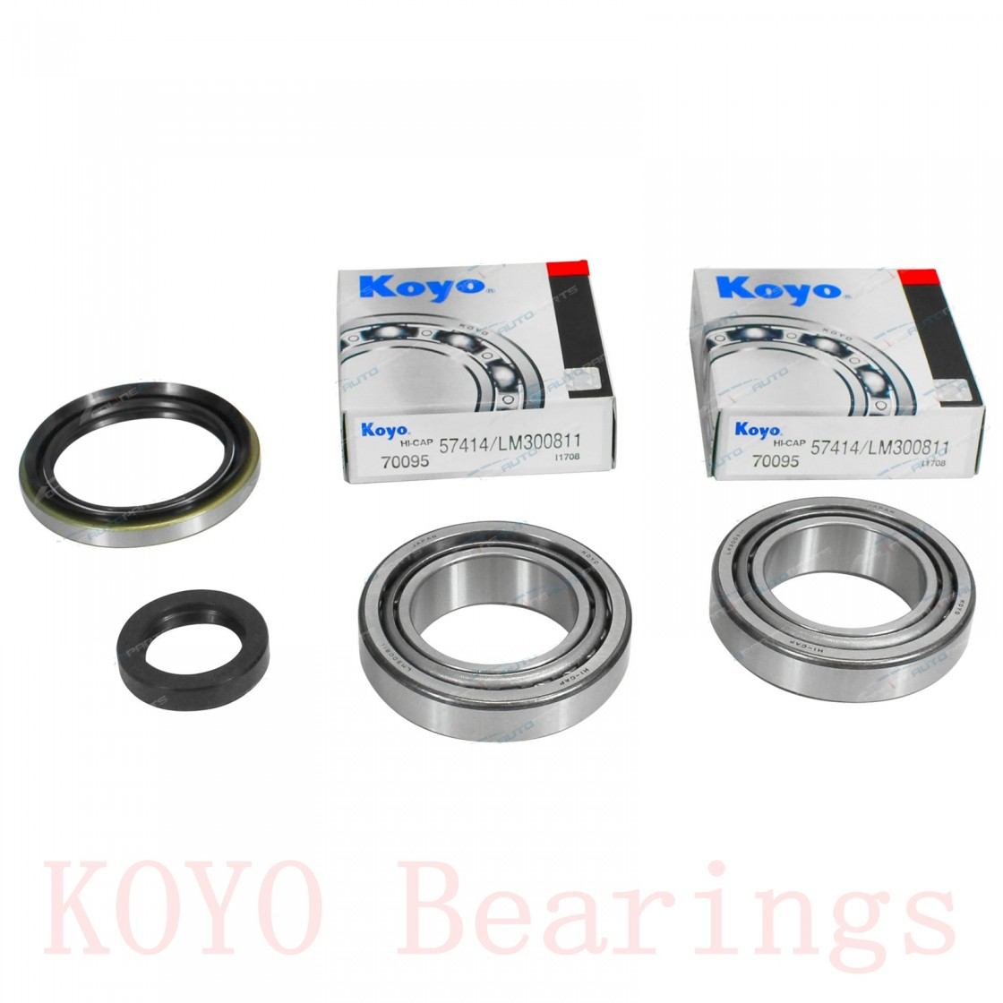 KOYO 2687/2631 tapered roller bearings
