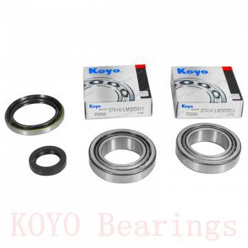 KOYO 608-2RS deep groove ball bearings