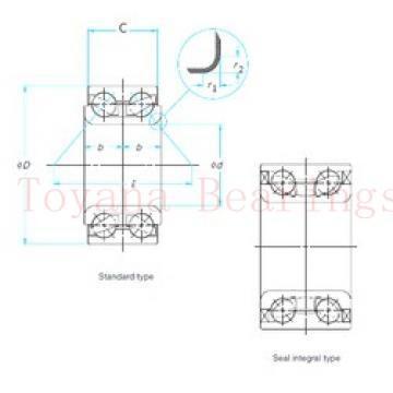 Toyana 7310 A-UO angular contact ball bearings