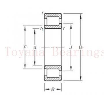 Toyana 1580207 deep groove ball bearings