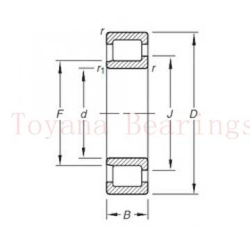 Toyana HH914447/12 tapered roller bearings