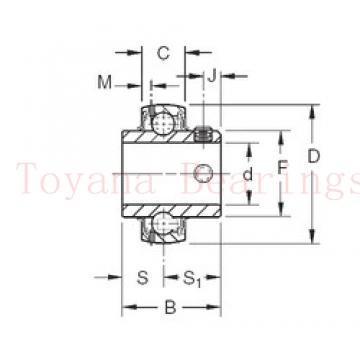 Toyana 7015 C angular contact ball bearings