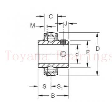 Toyana H414245/10 tapered roller bearings