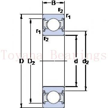 Toyana 7230 C angular contact ball bearings