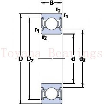 Toyana NUP2340 E cylindrical roller bearings