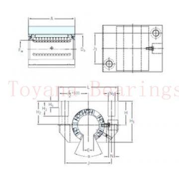 Toyana NU1944 cylindrical roller bearings