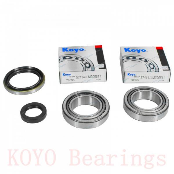 KOYO WFN686 ZZ deep groove ball bearings #1 image