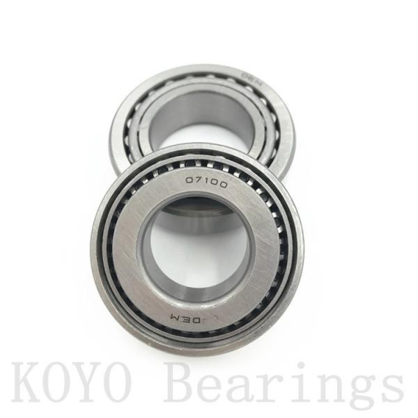 KOYO KDX120 angular contact ball bearings #3 image