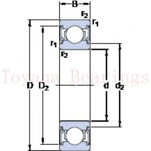 Toyana 24036 K30 CW33 spherical roller bearings #1 image